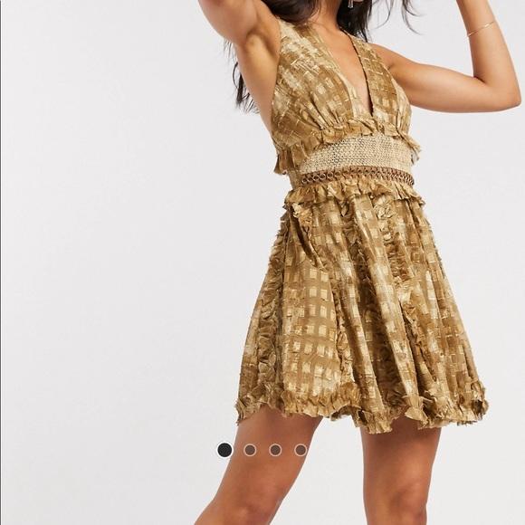 ASOS Design low cut dress